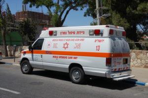 ניידת טיפול נמרץ מגן דוד אדום צילום: אפי אליאן