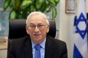 פרופ' ברטולד פרידלנדר, נשיא המכללה האקדמית הדסה