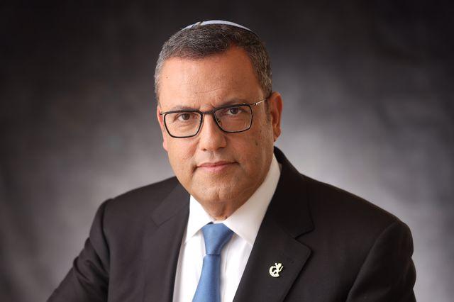 ראש העיר משה ליאון - צילום תמונה ראובן קפוצ'ינסקי