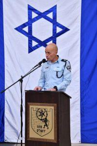 דורון ידיד מפקד מחוז ירושלים צילום דוברות המשטרה