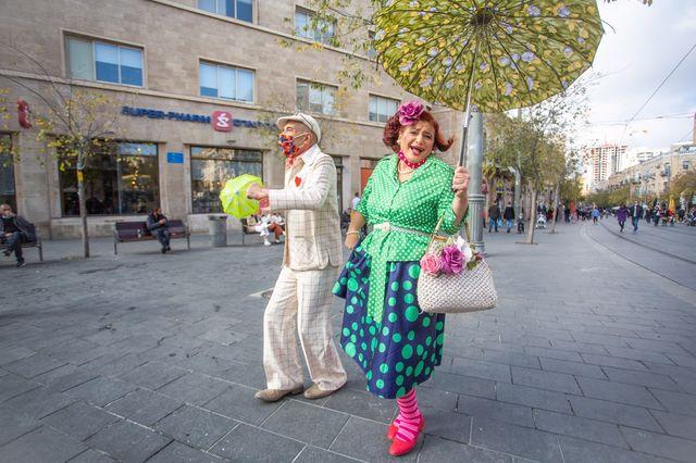 אמני רחוב בירושלים 1_ צילום דור פזואלו
