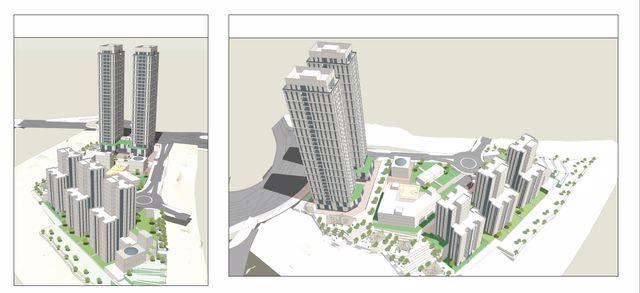 הדמיות - אזור מגורים חדש בשכונת חומת שמואל עם 540 יחד - קרדיט לאלי רכס אדריכלים_640x293