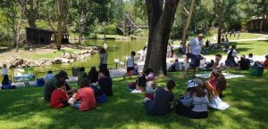 """ילדי """"המעגל של ג'רמי"""" נפגשו וחגגו ביחד את תחילת החופש הגדול. כ- 300 משתתפים הגיעו לאירוע שהתקיים בגן החיות התנ""""כי בירושלים"""
