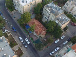 המגרש ברחוב החיש - קרדיט ארד סימון אדריכלים באדיבות חברת מוריה_640x480