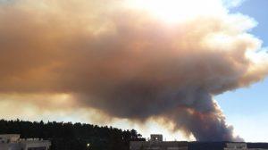עדכון השריפה בהרי ירושלים