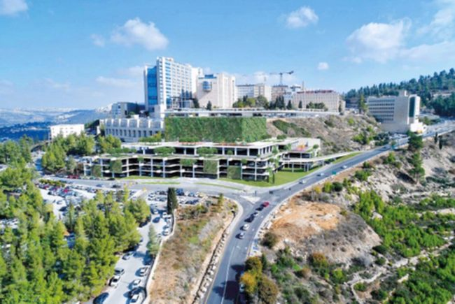 1,000 מקומות חניה חדשים במרכז הרפואי הדסה עין כרם