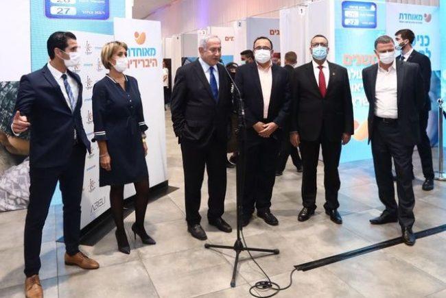 אלפי מתחסנים ביום במתחם החיסונים החדש של מאוחדת בבנייני האומה