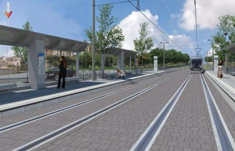 פורסם המכרז הראשון לביצוע עבודות התשתית לקו הכחול של הרכבת הקלה בירושלים