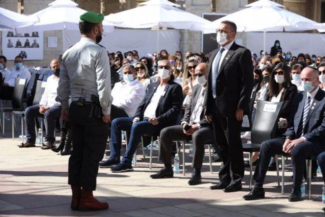טקס יום הזיכרון לחללי מערכות ישראל תשפא