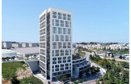 סיבוס זכתה במכרז לביצוע פרויקט מגדל רם בגבעת שאול בירושלים- היקף עבודות הבניה כ-106 מיליון ₪