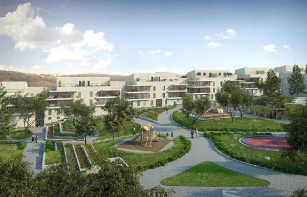 פרויקט המגורים של חברת אזורים במוצא עלית: נותרו למכירה 27 דירות בלבד מתוך 221 ששווקו.
