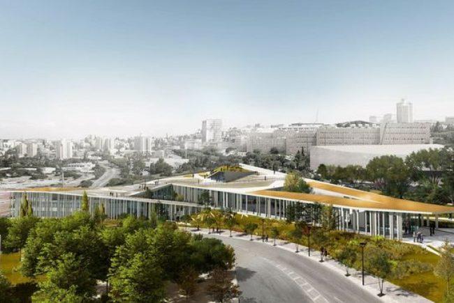 משרד האדריכלים מייזליץ-כסיף-רויטמן זכה בתחרות לתכנון מִנווה האקדמיה בקריית הלאום בירושלים