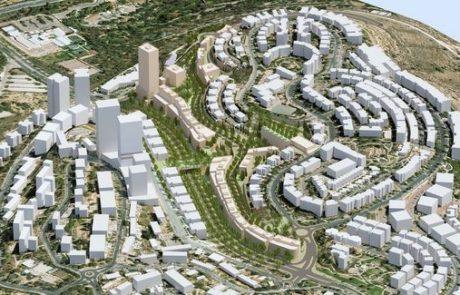 אושרה הקמת מתחם מגורים חדש הכולל 710 יחידות דיור בשכונת גבעת משואה