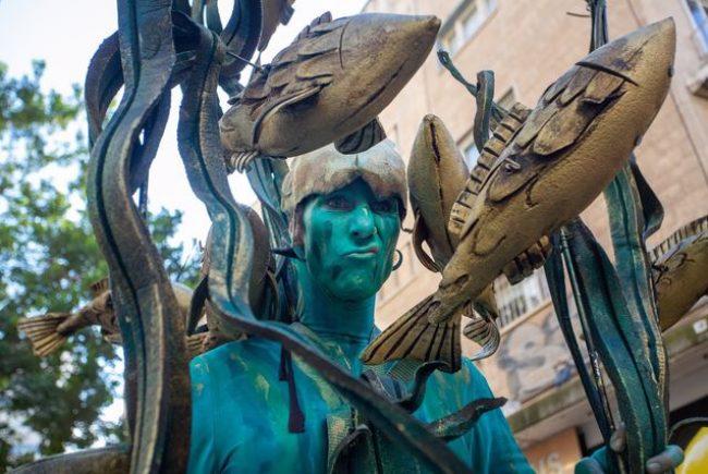 אמנים וכליזמרים ברחובות ואירועים בטבע העירוני: עיריית ירושלים חוגגת את חג הפסח