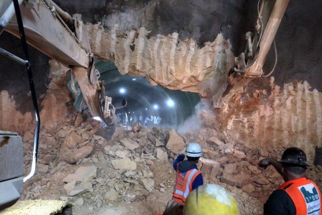 הסתיימה פריצת המנהרה האחרונה במסגרת פרויקט כביש 16 ובכך הושלם שלב כריית המנהרות בדרך החדשה לירושלים