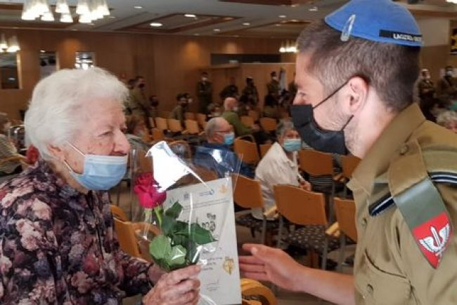 אירועי יום הזיכרון לשואה ולגבורה  שנערכו היום בירושלים