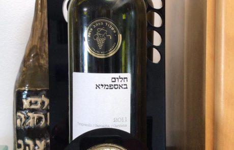 היקב לייצור יין כתום מתרחב