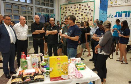 1500 ארגזי מזון חולקו לקראת שבועות