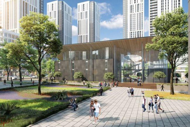 """תוכנית אב חדשה לתלפיות: כ-8,600 יחידות דיור   1.3 מיליון מ""""ר לתעסוקה ומסחר   עשרות מבני ציבור חדשים   מערכות תחבורה מתקדמות."""