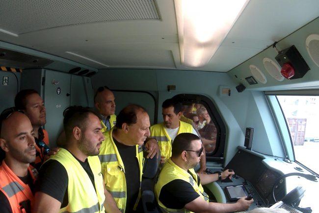 הנה באה הרכבת: מירושלים לתחנת ההגנה