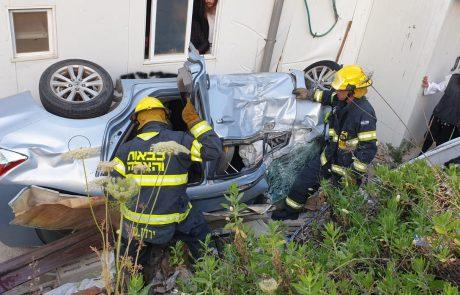 בית שמש: נפל עם רכבו לואדי